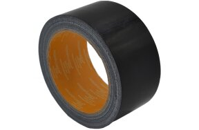 CLOTH DUCT TAPE BLACK 50mmx20m